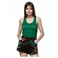 [해외]4F Sleeveless T-Shirt Teal