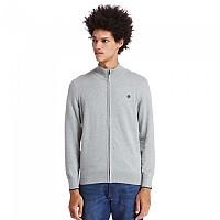 [해외]팀버랜드 Williams River 12gg Cotton Full Zip Sweater Medium Grey Heather