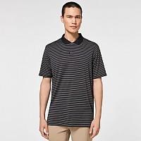 [해외]오클리 Jacquard Stripe Short Sleeve Polo Blackout