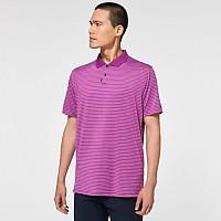 [해외]오클리 Jacquard Stripe Short Sleeve Polo Ultra Purple