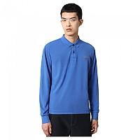 [해외]나파피리 Elbas 3 Long Sleeve Polo Blue Dazzling
