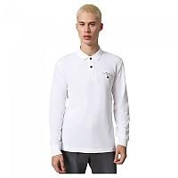 [해외]나파피리 Elbas 3 Long Sleeve Polo Bright White 002