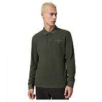 [해외]나파피리 Elbas 3 Long Sleeve Polo Green Depths