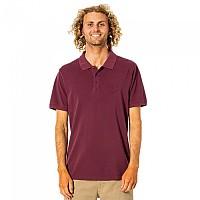 [해외]립컬 Faded Short Sleeve Polo Shirt Maroon