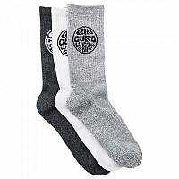 [해외]립컬 Wetty Crew Socks 3 Pack Multicolour