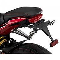 [해외]PUIG License Plate Holder Honda CBR650R 21 9138286858 Black
