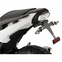 [해외]PUIG License Plate Holder Honda Integra 750 17-19/NC700X 16-17/NC750S/NC750X 16-19 9138286860 Black