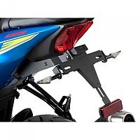[해외]PUIG License Plate Holder Suzuki GSX-R125/GSX-S125 17-19 9138286877 Black