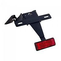 [해외]PUIG License Plate Holder Suzuki GSXR600/750 06-07 9138286880 Black