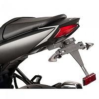 [해외]PUIG License Plate Holder Suzuki SV650 16-19/SV650X 18-19 9138286881 Black