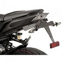 [해외]PUIG License Plate Holder Yamaha FZ-09 13-17/MT-09 17-19 9138286883 Black