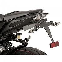 [해외]PUIG License Plate Holder Yamaha FZ-09 13-17/MT-09 17-19/MT-09 SP 18-19 9138286884 Black