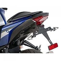 [해외]PUIG License Plate Holder Yamaha MT-03 16-19/YZF-R3 16-18 9138286886 Black