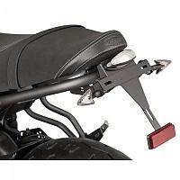 [해외]PUIG License Plate Holder Yamaha XSR700 16-19/XSR700 X Tribute 19 9138286896 Black