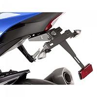 [해외]PUIG License Plate Holder Yamaha YZF-R1 16-19/YZF-R1M 17-19 9138286897 Black