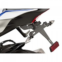 [해외]PUIG License Plate Holder Yamaha YZF-R6 17-19 9138286900 Black