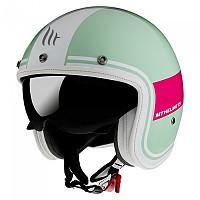 [해외]MT HELMETS Le Mans 2 SV Tant Open Face Helmet 9138277664 Gloss Pearl / Pink