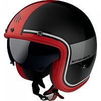 [해외]MT HELMETS Le Mans 2 SV Tant Open Face Helmet 9138277667 Gloss Red