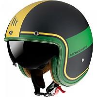 [해외]MT HELMETS Le Mans 2 SV Tant Open Face Helmet 9138277669 Matt Gold