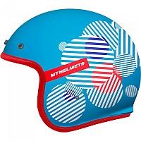[해외]MT HELMETS Le Mans 2 SV Zero Open Face Helmet 9138277670 Gloss Blue