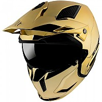 [해외]MT HELMETS Streetfighter SV Chromed Convertible Helmet 9138277690 Gold