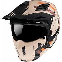 [해외]MT HELMETS Streetfighter SV Skull 2020 Convertible Helmet 9138277692 Matt Orange