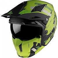 [해외]MT HELMETS Streetfighter SV Skull 2020 Convertible Helmet 9138277694 Matt Green