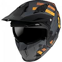 [해외]MT HELMETS Streetfighter SV Skull 2020 Convertible Helmet 9138277695 Matt Grey
