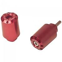 [해외]PUIG Long Bar-End Plug Yamaha XJR1300 99 9138286908 Red
