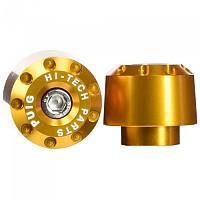 [해외]PUIG Short Bar-End Plug Yamaha YZF-R1 04 9138287074 Gold