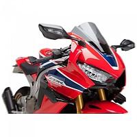 [해외]PUIG Downforce Sport Spoilers Honda CBR1000RR Fireblade SP 17 9138338094 Black