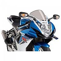 [해외]PUIG Downforce Sport Spoilers Suzuki GSX-R600 11 9138338098 Black