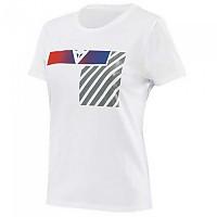 [해외]다이네즈 Illusion Short Sleeve T-Shirt 9138349296 White / Dark Grey / Red