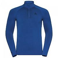 [해외]오들로 Performance Warm Long Sleeve Base Layer 9137103001 Directoire Blue / Black