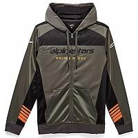 [해외]알파인스타 Sessions II Full Zip Sweatshirt 9137786103 Charcoal / Black