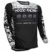 [해외]MOOSE SOFT-GOODS M1 F21 Long Sleeve Jersey 9138175228 Black / White