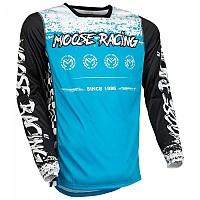 [해외]MOOSE SOFT-GOODS M1 F21 Long Sleeve Jersey 9138175229 Blue / Black