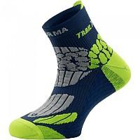 [해외]ENFORMA SOCKS Sahara Socks 4138133882 Blue / Fluor Green