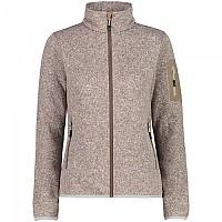 [해외]CMP Jacket Fleece 4138309327 Corteccia / White