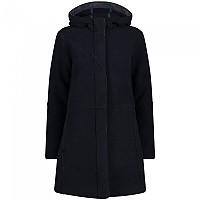 [해외]CMP Fix Hood Coat 4138315115 Black Blue