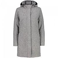[해외]CMP Fix Hood Coat 4138315117 Grey Melange