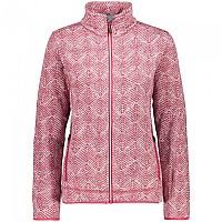 [해외]CMP Fleece Jacket 4138350176 Rhodamine / White / Granita
