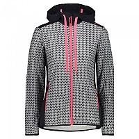 [해외]CMP Jacket Hooded Fleece 4138350188 Anthracite