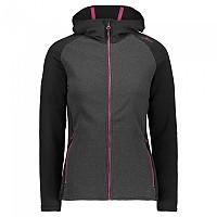 [해외]CMP Jacket Hooded Fleece 4138350189 Anthracite M.