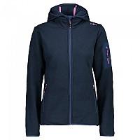 [해외]CMP Jacket Hooded Fleece 4138350193 Blue