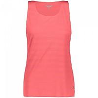 [해외]CMP Sleeveless T-Shirt 4138350275 Red Fluo