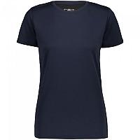 [해외]CMP T-Shirt 4138350309 Black Blue