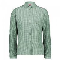 [해외]CMP Long Sleeve Shirt 4138352120 Neptune / White