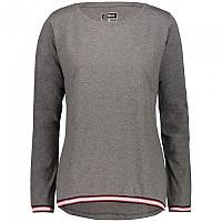 [해외]CMP Long Sleeve T-Shirt 4138352130 Fumo Melange