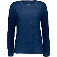 [해외]CMP Long Sleeve T-Shirt 4138352134 Marine Melange